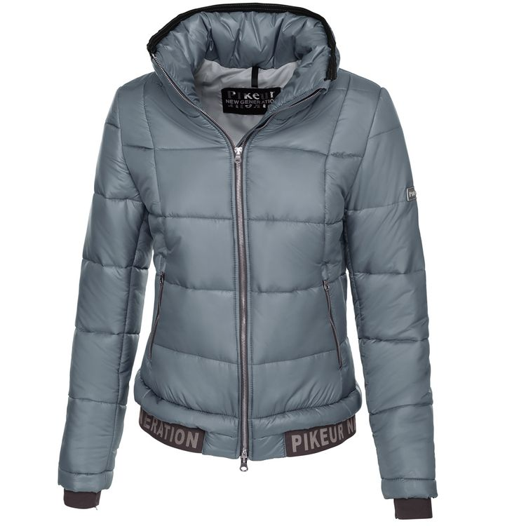 Pikeur Winterjacke GREADY in grey blue - New Generation