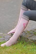 Esperado Kniestrumpf Spirit in rosa