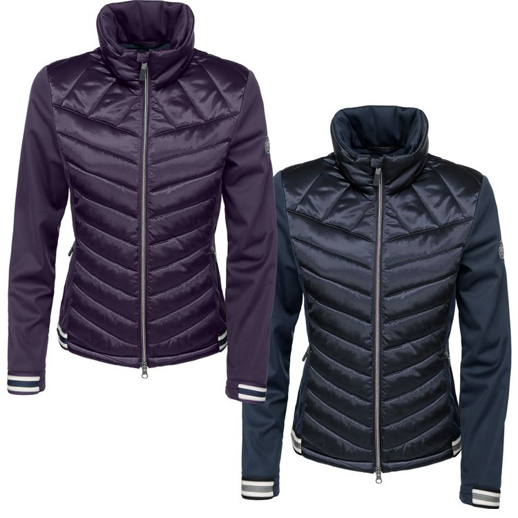 Pikeur Damen Softshell Jacke CALINA in Grape und Pine Green HW2018