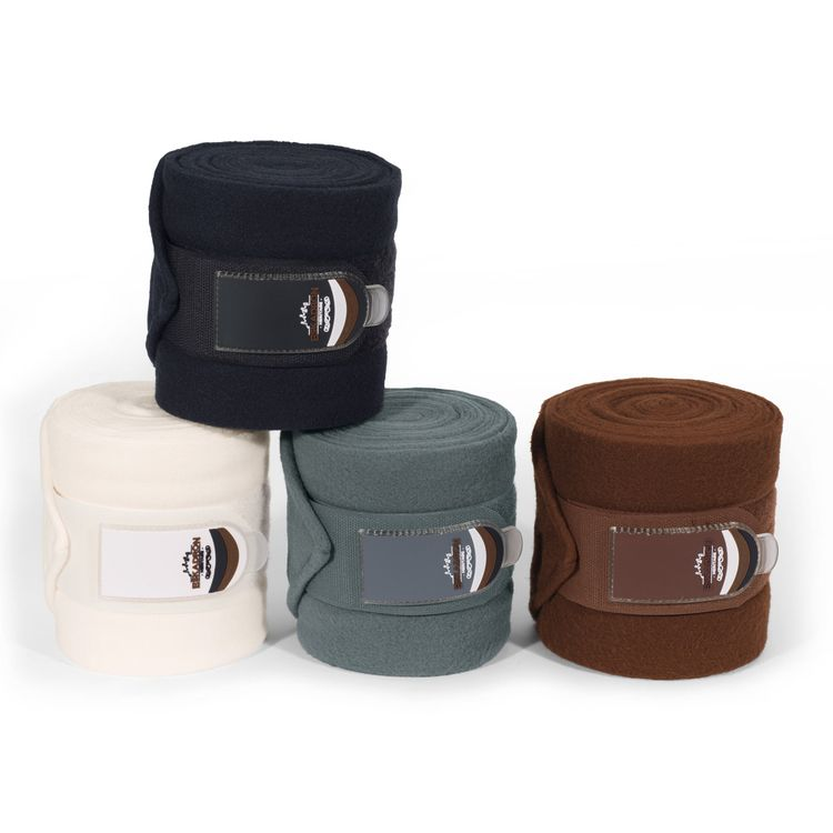Eskadron Heritage Fleece-Bandagen in Pony in blackblue,ivory,copper,ashblue