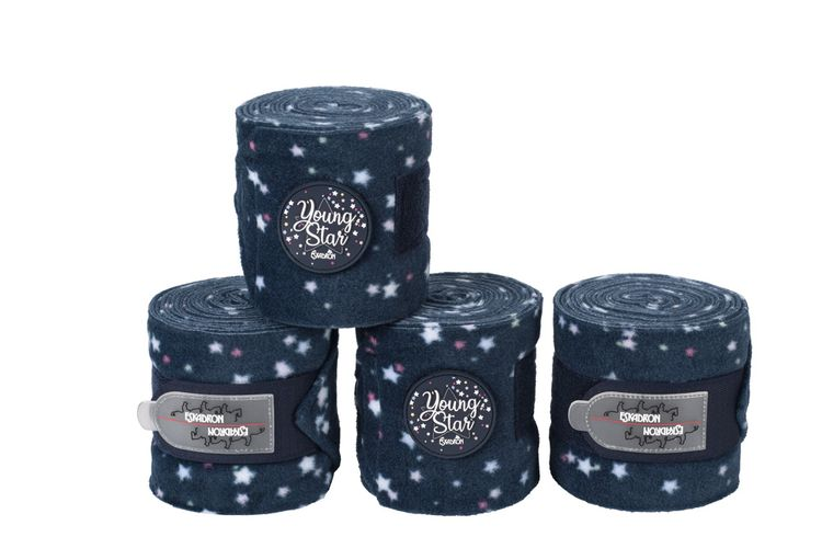 Eskadron Young Star 4er Set Bandagen in navy stars