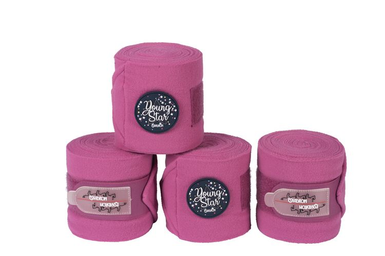Eskadron Young Star 4er Set Bandagen in pink