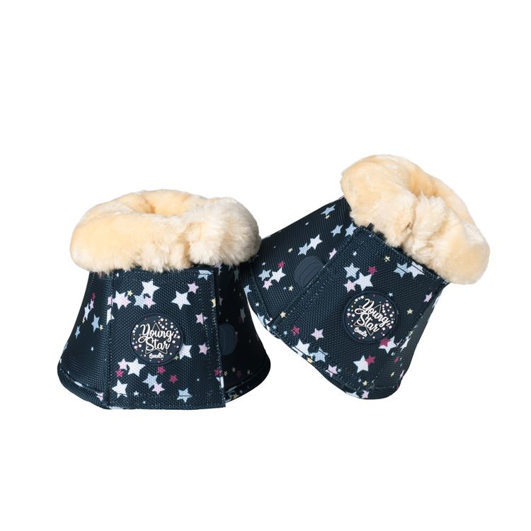 Eskadron Young Star  Faux Fur Sprungglocken in navy stars