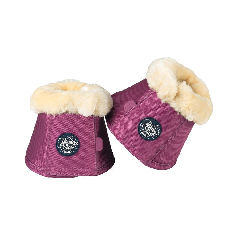 Eskadron Young Star  Faux Fur Sprungglocken in pink