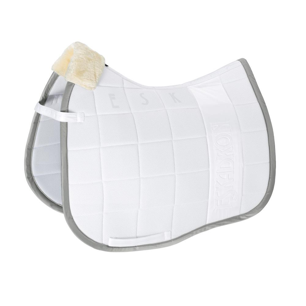 Eskadron Platinum Pure Schabracke Inno-Pad in white