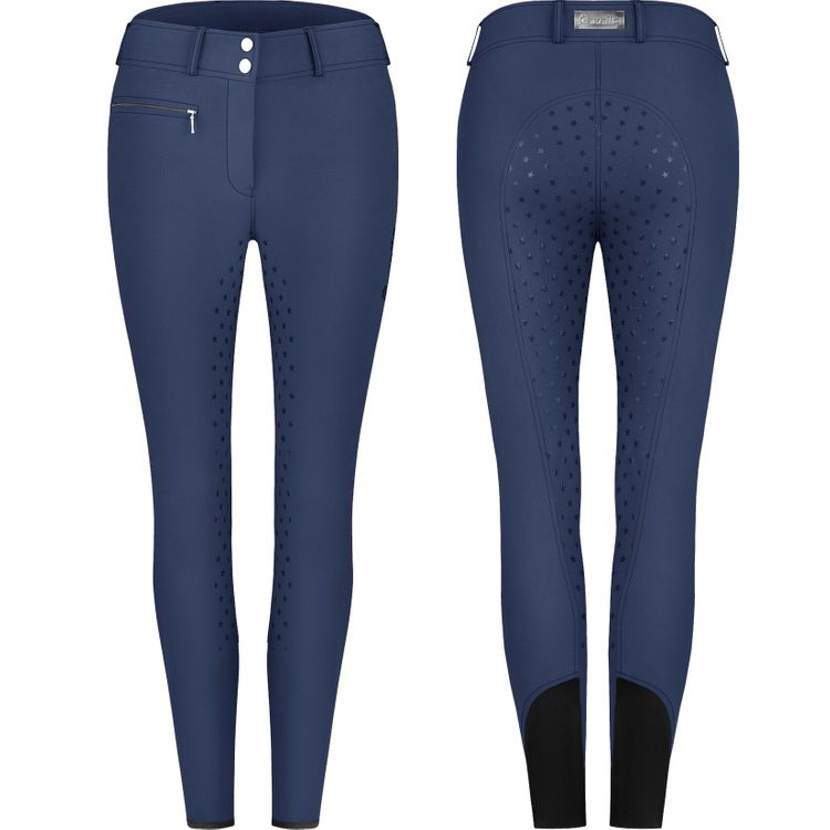 Cavallo Reithose Casy Grip in denim (Vollbesatz)
