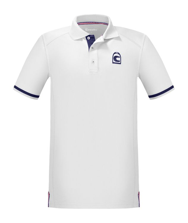 Cavallo Herren Funktions-Poloshirt Kato in white