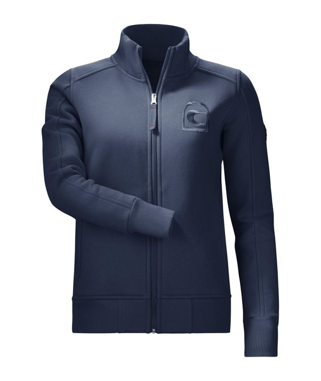 Cavallo Unisex Sweat-Jacke Bango in darkblue