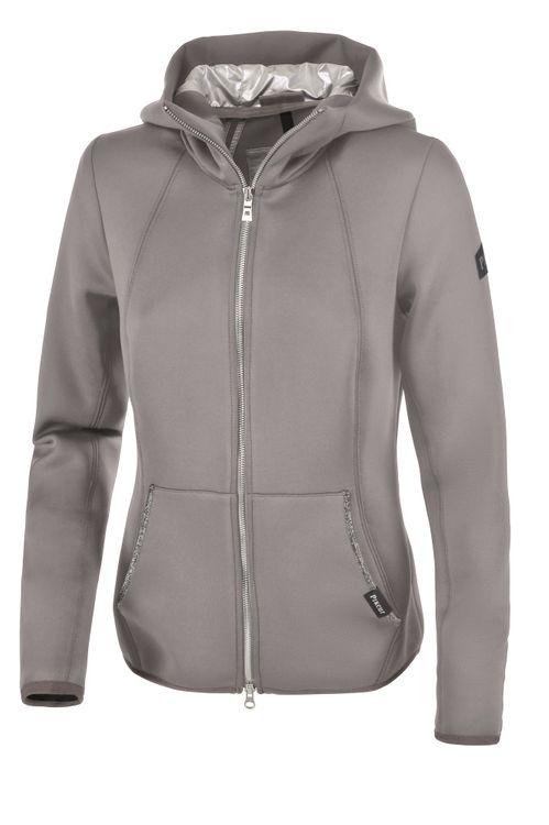Pikeur Tech-Fleece Jacke HAMILA in silvergrey
