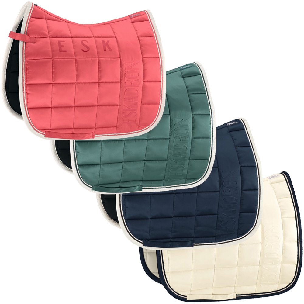 Eskadron Big Square Glossy Schabracke navy, blanc, fusion coral, seapine green