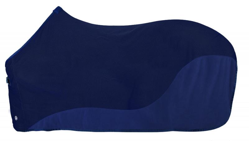 Pfiff Fliegendecke mit Fleece in Blau