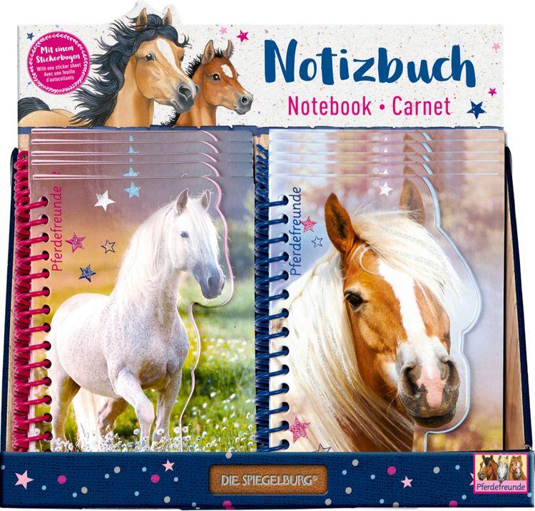 """Notizbuch Pferdefreunde von """"die Spiegelburg"""""""