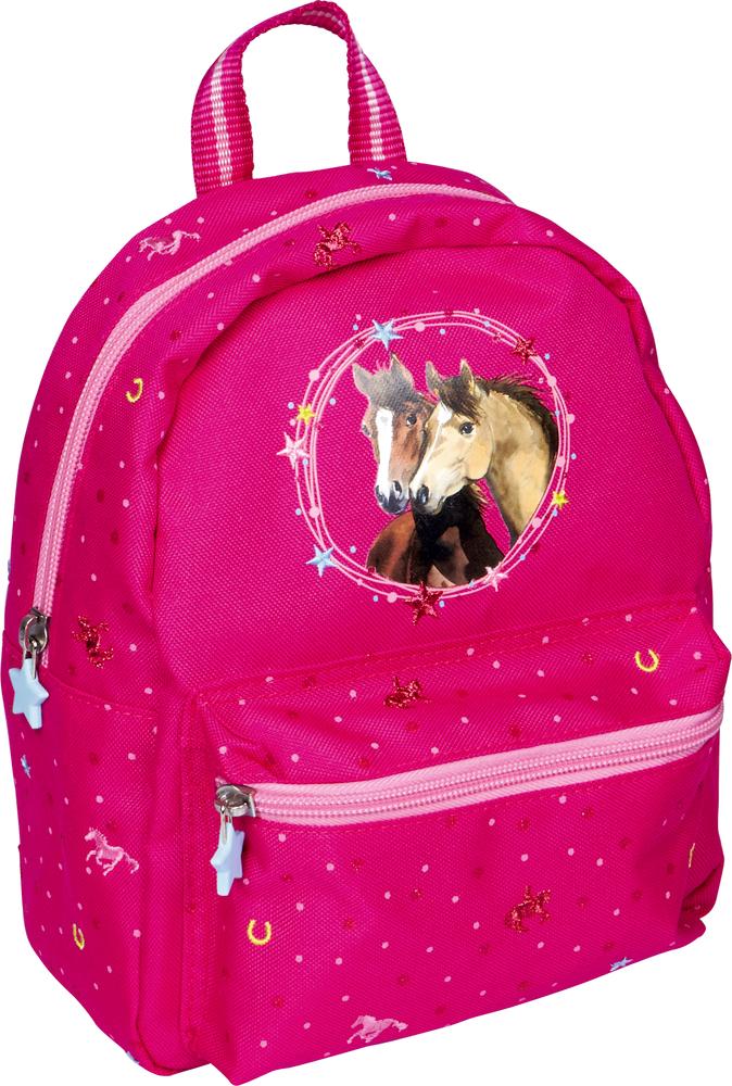 """Kindergartenrucksack pink Pferdefreunde  von """"die Spiegelburg"""""""