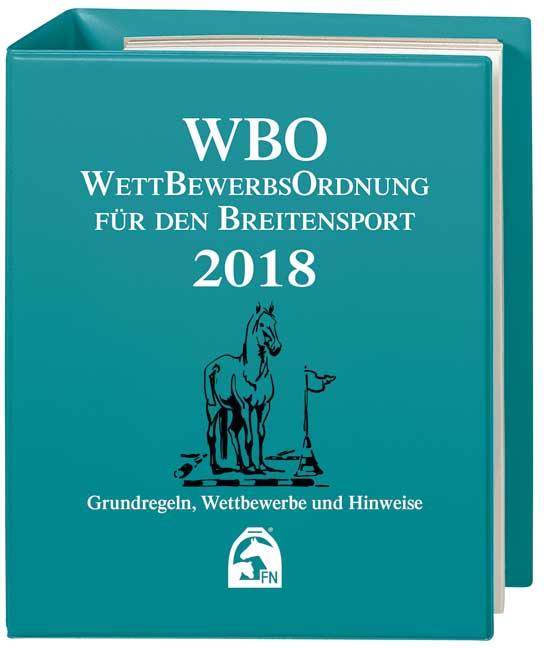WBO WettBewerbsOrdnung für den Breitsensport 2018