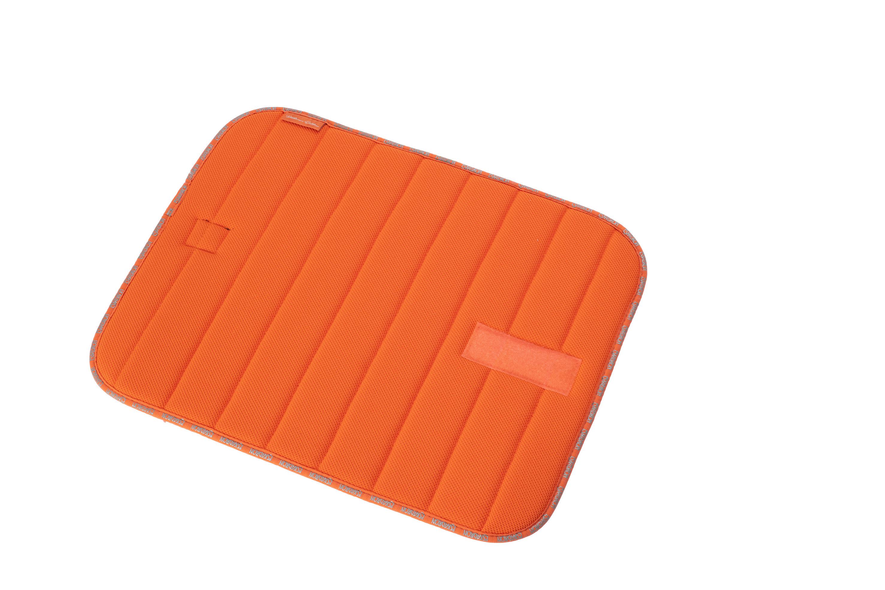 Eskadron Platinum Bandagen Unterleger in vermillion-orange