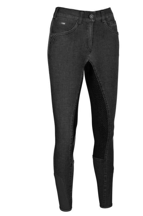 Pikeur Jeansreithose Darjeen Grip in schwarz