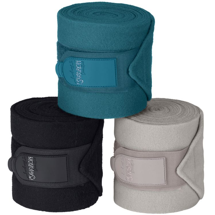Eskadron 4er Set Bandagen in tealblue, caviar oder softgrey