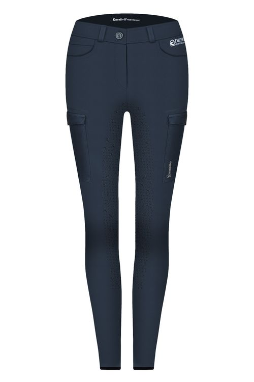 Cavallo Damenreithose CASCA Pro Grip in darkblue- Neu