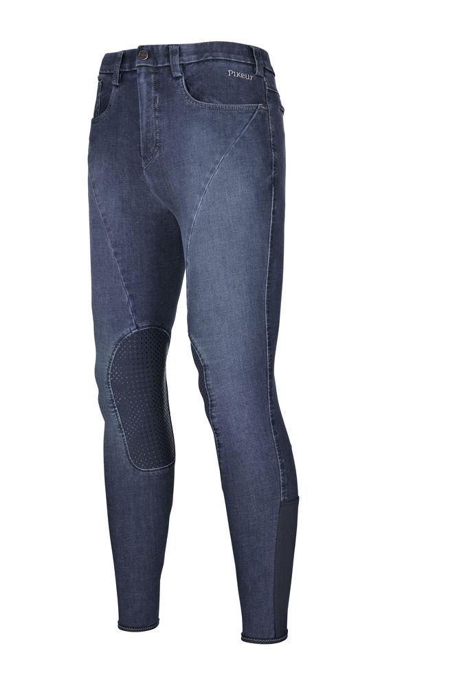 Pikeur Herren-Jeans LEON Kniegrip Navy