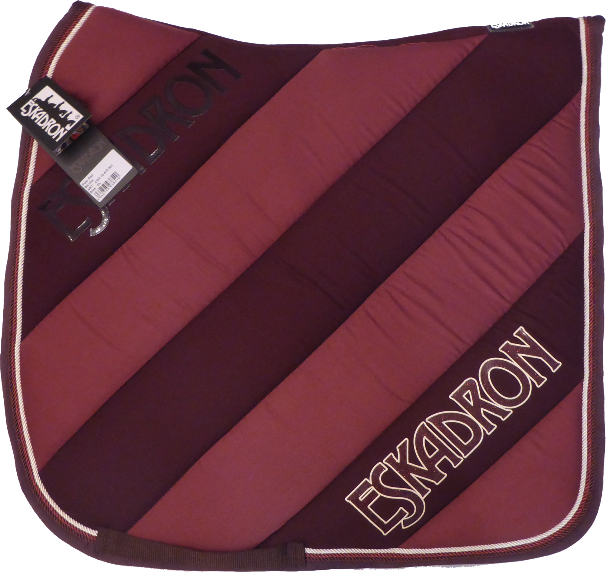 Eskadron Polo Pad Bicolor in blackberry/wildberry