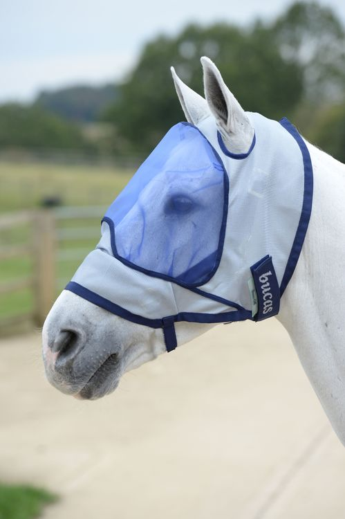 Bucas Buzz- Off Delux Mask Blue