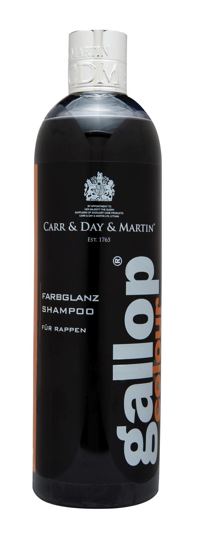 Carr & Day & Martin Gallop Farbglanz Shampoo für Rappen