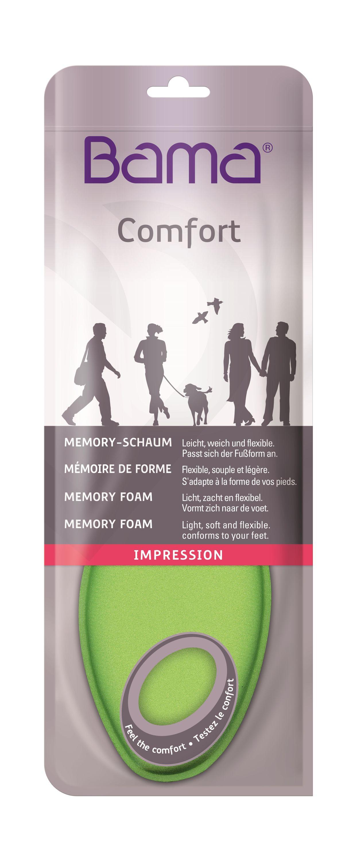 Bama Impression Memory Schaum Sohle