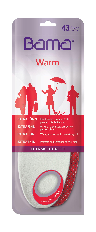 Bama Thermo Sohle Thin Fit- extra dünn und Warm