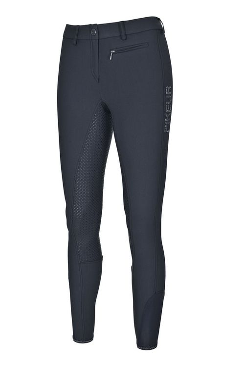 Pikeur Lucinda Grip in black/navy mit Strass Grey diamond