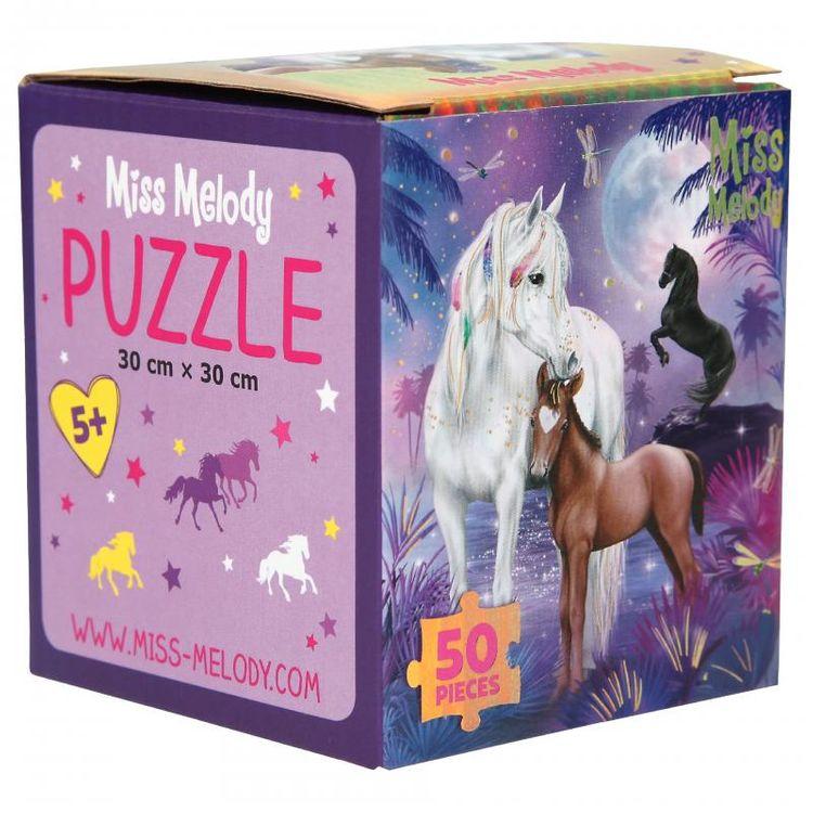 Miss Melody Puzzle 50 Teile (lila Fantasiewelt mit Schimmel)