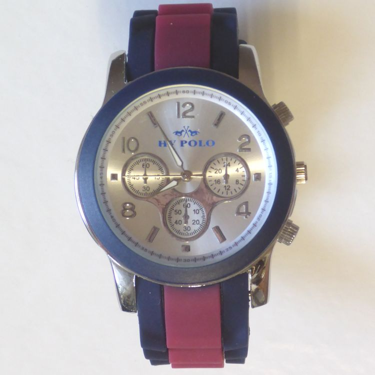 "HV Polo Watch ""Alicante in navy/cayenne(rot)"