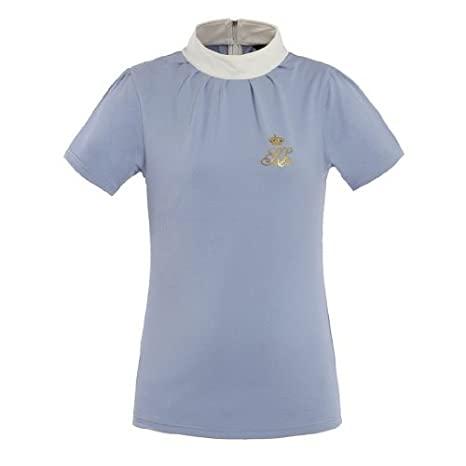 Kingsland Damen Showshirt/Turniershirt Tiffany in blue heaven