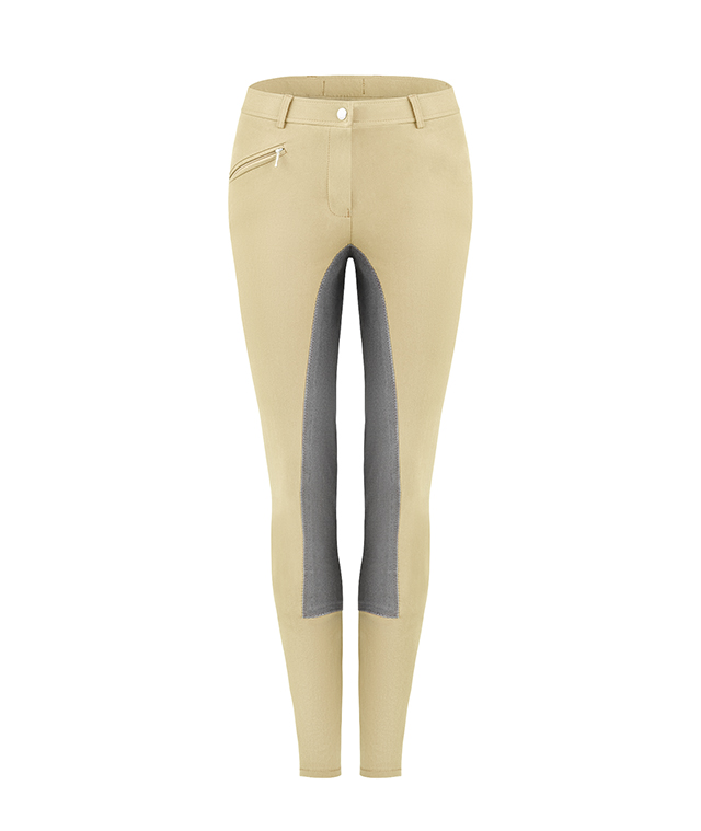 Cavallo Kinder Reithose Carat in pale khaki