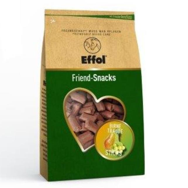 Effol Friend Snacks Leckerlies in Birne/Traube, 1kg Tüte