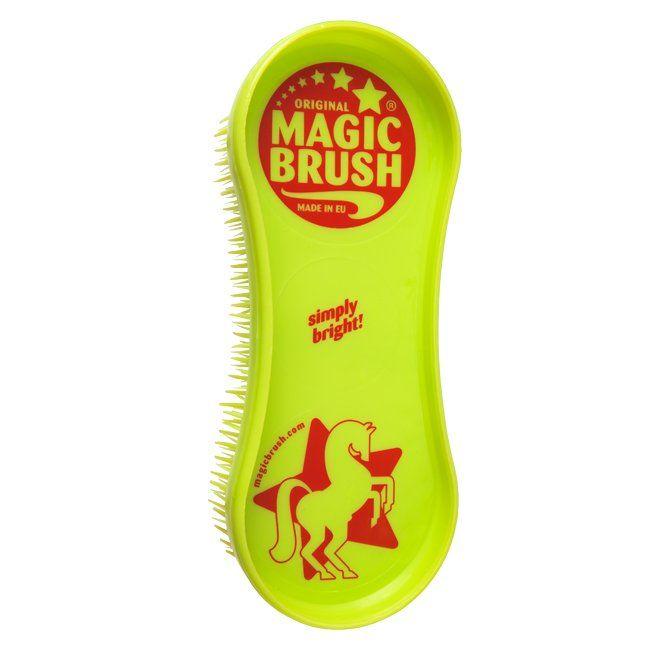 Magic Brush 1x Pferdebüsten in lime green (Pure Nature)