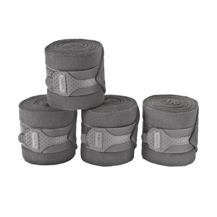 Eskadron Reflexx 4er Set Fleece-Bandagen in grey