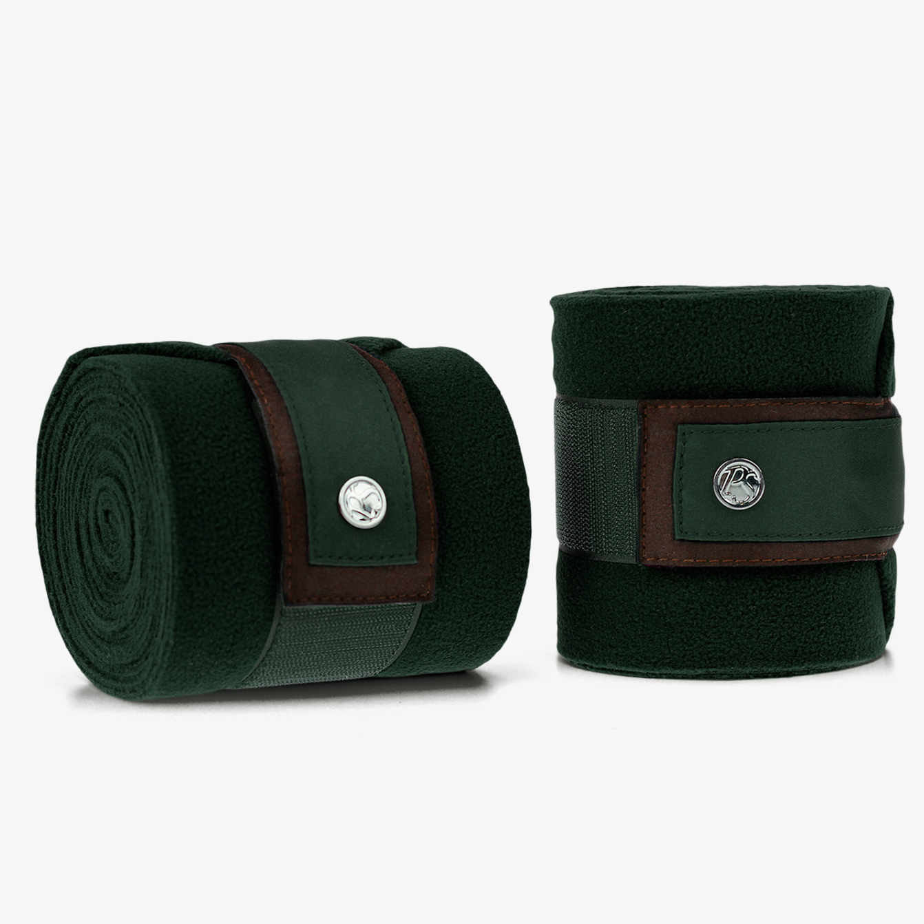 PS of Sweden Fleece-Bandagen , 4er Satz in emerald