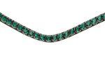 PS of Sweden Stirnband sleek emerald - brown