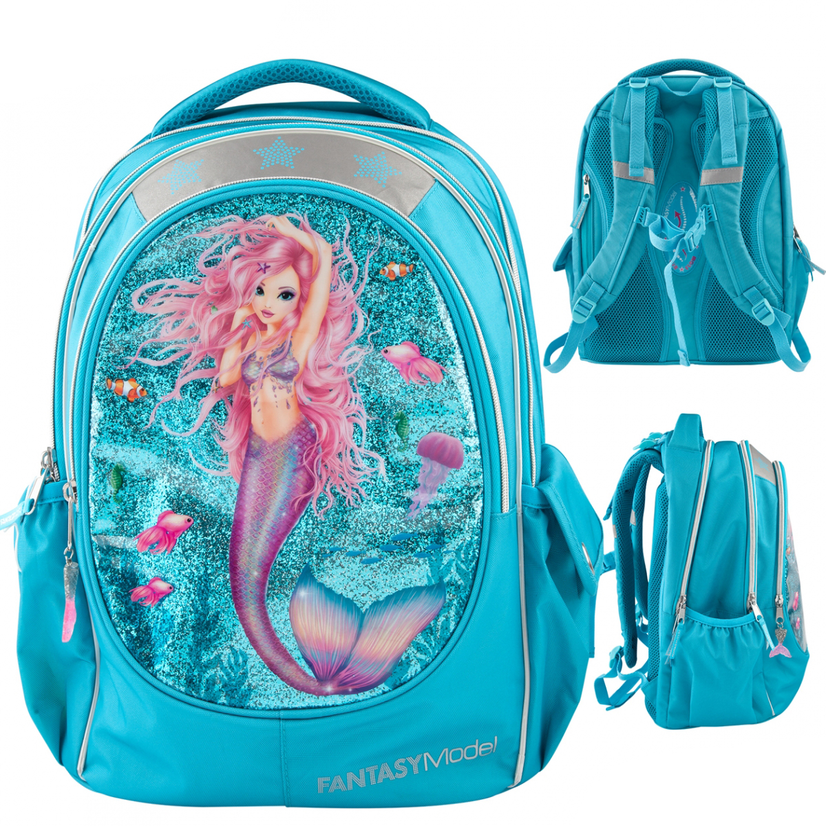 Fantasy Model Schulrucksack MERMAID