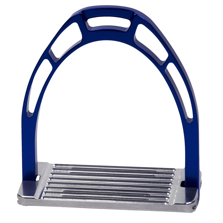 ACAVALLO - Steigbügel Arco Alupro, Farbe blue