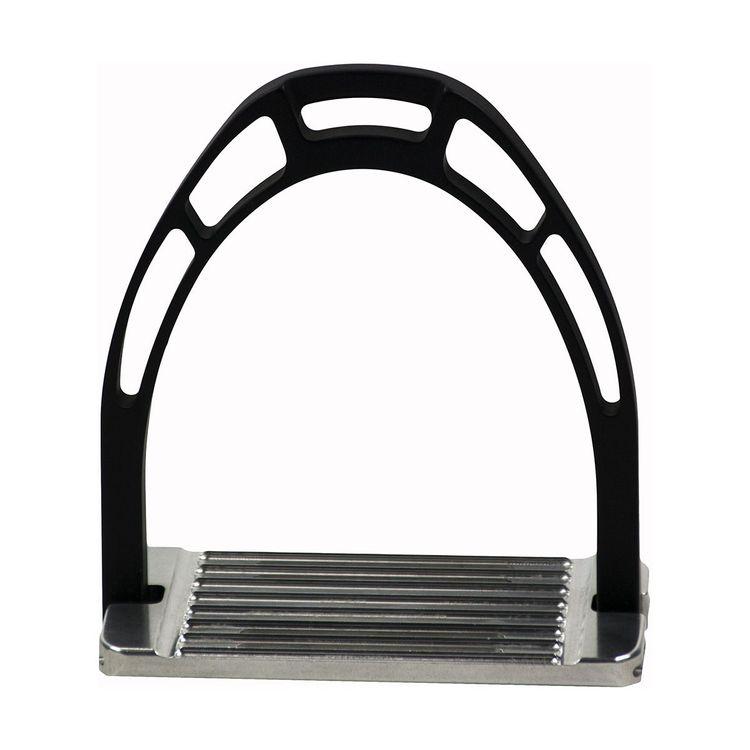 ACAVALLO - Steigbügel Arco Alupro, Farbe black