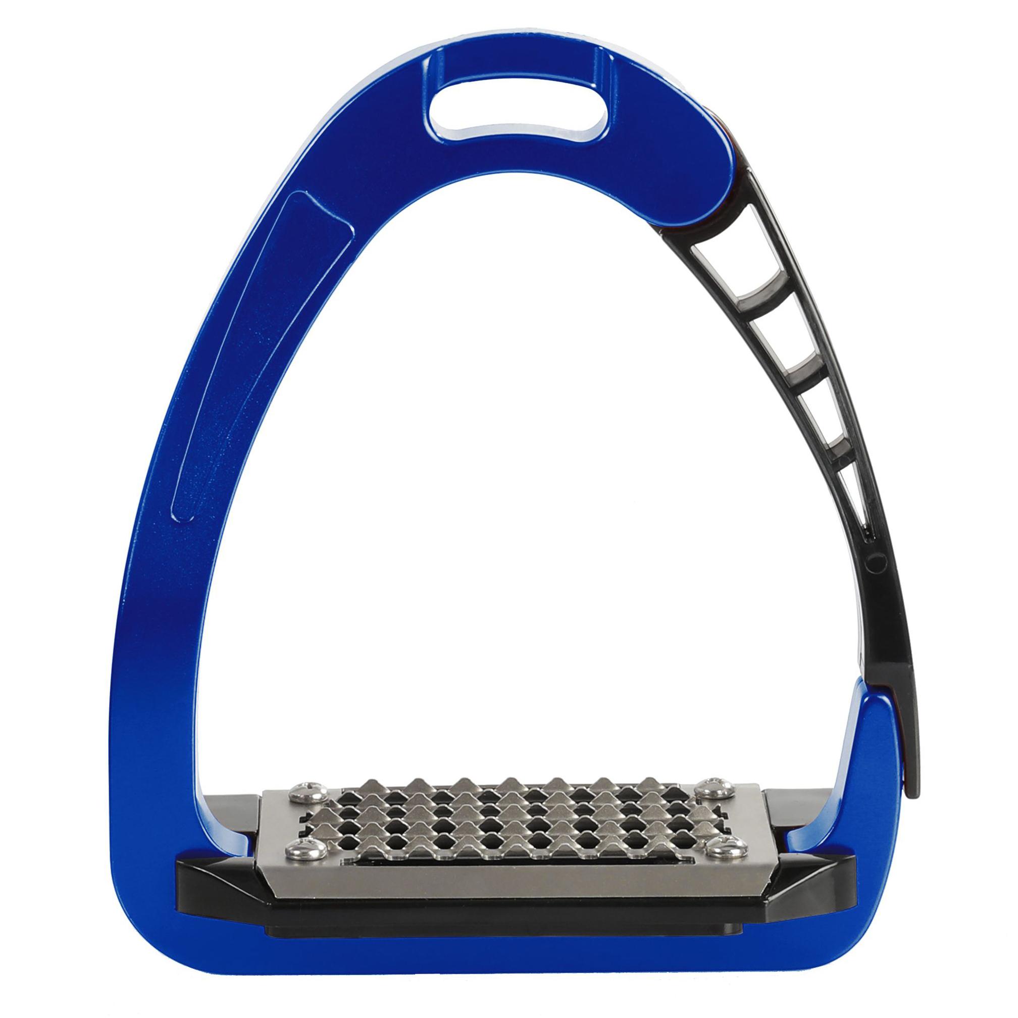 ACAVALLO - Sicherheits-Steigbügel Arena Alupro, Farbe blue