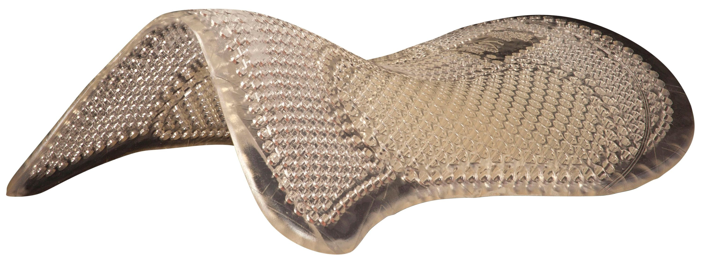 ACAVALLO Gel Pad Mitte erhöht - transparent , onesize