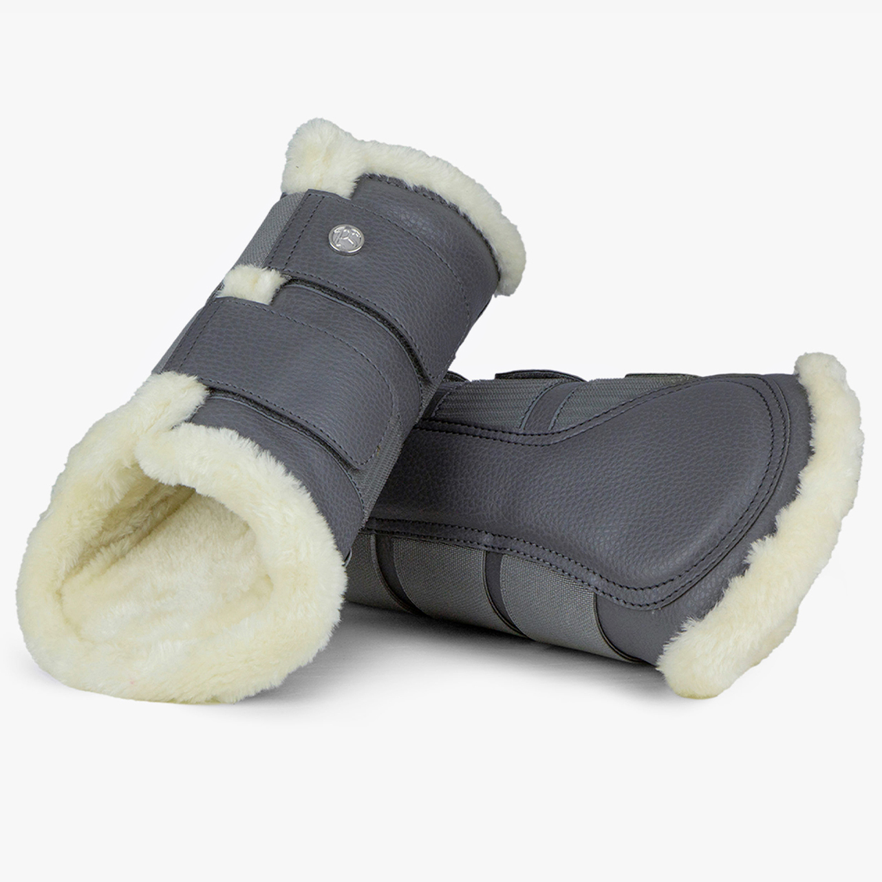 PS of Sweden 4er Set Gamaschen, Brushing Boots in anthracite