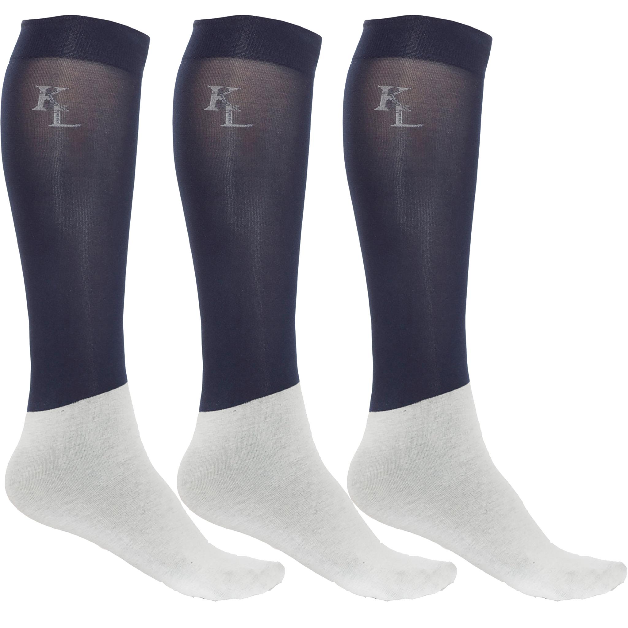 Kingsland 3er Pack Show Socks in navy - Topseller
