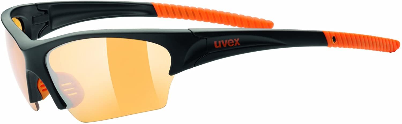 Uvex Unisex Sonnenbrille Sunsation Sportsonnenbrille in black/orange