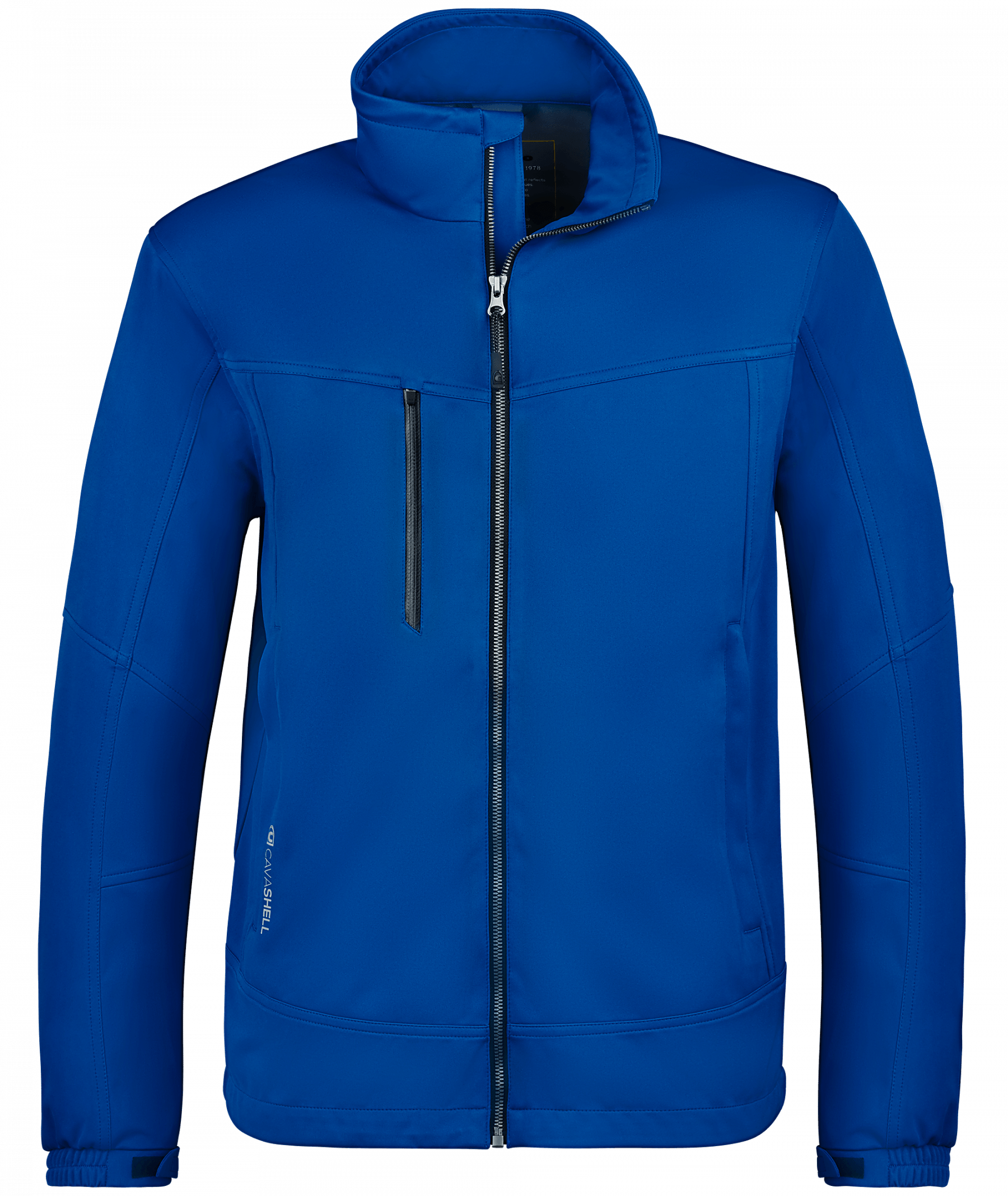 Cavallo Herren Winddichte Softshelljacke Ian in Cosmic Blue, Gr. S