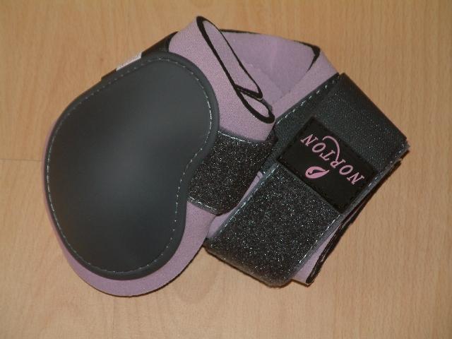 Norton Streichkappen 2er Set in grau/rosa, Größe Pony