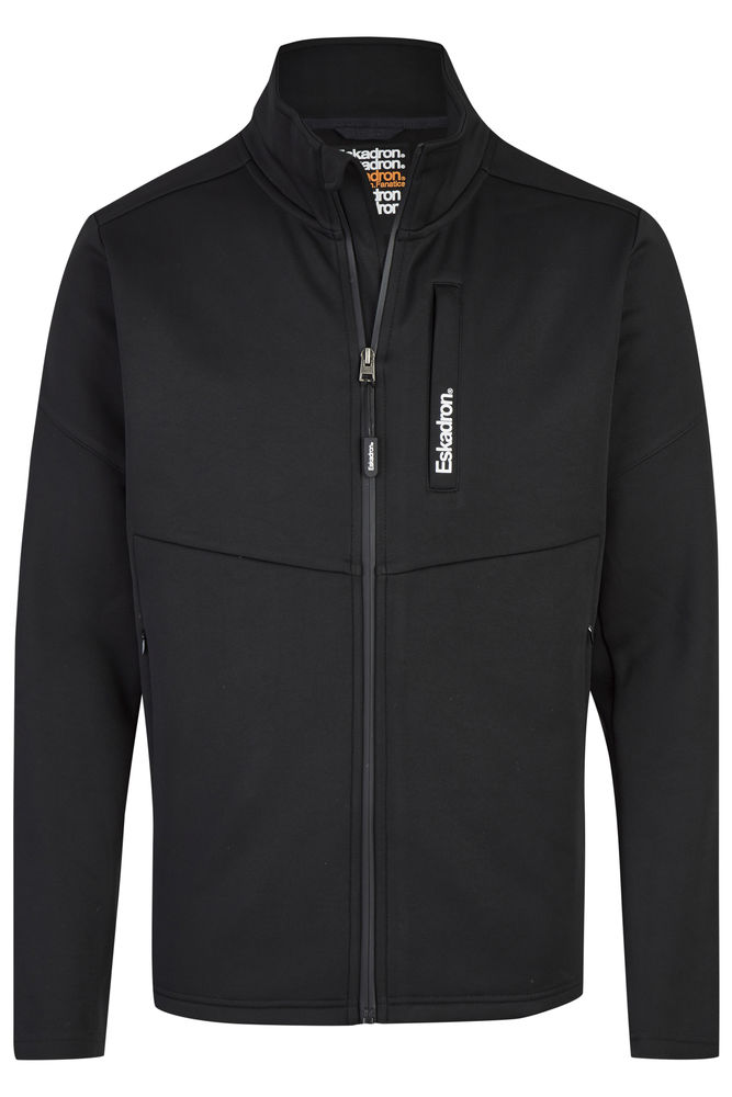 Eskadron Fanatics Herren Softshell Zip Shirt Nick II in Black Herbst /Winter 2020