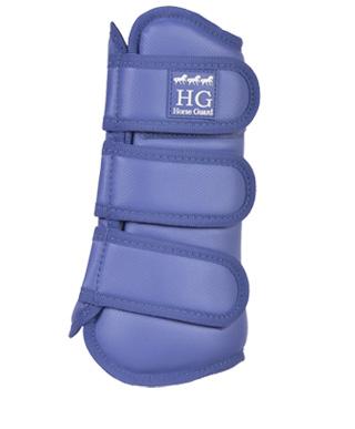 HorseGuard Dressur Gamaschen, 4erSet Sehnenschoner, in marlin (taubenblau), Größe Cob